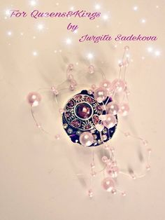 Handmade brooch for women Brooches Handmade, Swarovski Crystals, My Etsy Shop, Diamond, Check, Women, Women's, Diamonds