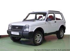 Lada Niva Facelift Prototype