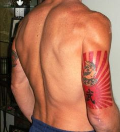 Japanese rising sun/samurai warrior - Tattoos.net