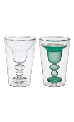 Bicchieri cocktail Bitossi 6 bicchieri da margarita in vetro Lista nozze