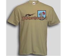 T-Shirt Jagdgeschwader 4 / mehr Infos auf: www.Guntia-Militaria-Shop.de