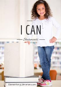 Do you use I Can Statements in your school library? Check out these printable I Can Statement pages for you to print out for student centers, the wall, or anywhere else you'd like to put them. Feel free to edit the files to make them work for you! https://elementarylibrarian.com/i-can-statements/