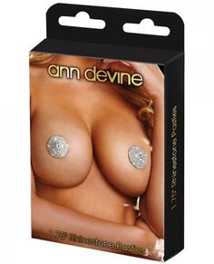 Ann Devine Rhinestone Pasties A woman's body is the ultimate luxury. These Rhinestone Pasties by Ann Devine are the perfect accessory to highlight your lovely curves. Adhesive stickers included in the package. Lingerie Party, Natural Curiosities, Adult Fun, Nipple Rings, Toy Store, Hush Hush, Body Jewelry, Female Bodies, Party Supplies