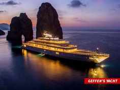 See how celebrities go on a Cruise Luxury Cruise Lines, Private Yacht, Luxury Yachts, Absolutely Gorgeous, Luxury Lifestyle, Mount Rushmore, To Go, World, Celebrities