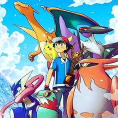 Ash the Champion of Kalos I really hope that this happens!
