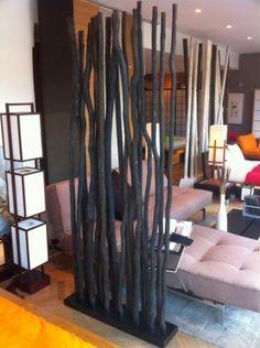 unique déco du bambou noir