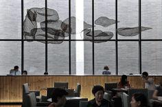南京中航樾府会所_北京集美组 Japanese Restaurant Design, Chinese Restaurant, Asian Interior, Luxury Interior, Artwork Lighting, Chandelier Art, Sand Table, Hotel Lounge, Hotel Reception