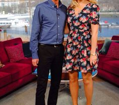 Holly Willoughby floral Dress