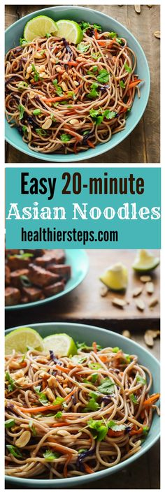 Easy Asian Noodles Gluten-Free Vegan