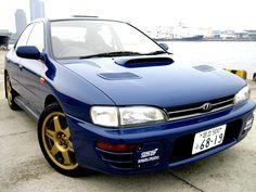 1996N (January) Subaru Impreza WRX STi Version II 555 turbo manual