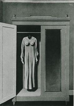 René Magritte: Homage to Mack Sennett, 1934; Oil on canvas