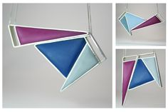 Angelina Jane- Contemporary geometric magnetic silver and resin necklace, customisable with up to 12 different colour/shape combinations Resin Necklace, Resin Jewelry, Unique Jewelry, Unique Colors, Different Colors, Color Shapes, Colour, Acrylic Resin, Geometric Jewelry