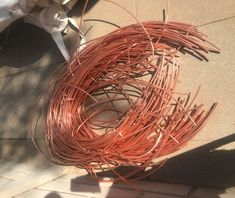 Copper Prices are per ton millberry copper, for sale Pure Copper, Copper Wire, Metal For Sale, Grapevine Wreath, Heavy Metal, Berries, Scrap, Cleaning, Pure Products