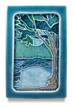 mill pond tile ephraim pottery
