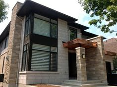 1000 images about stone is modern on pinterest ottawa for Modern home exterior finishes