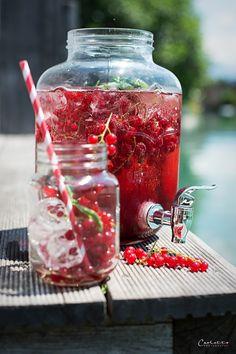 ribisel sangria Cranberry Sangria, Cocktails, Partys, Snacks, Smoothies, Food, Cheers, Life, Lemonade
