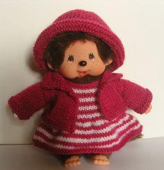 Vêtement Kiki ensemble robe, veste et chapeau : Jeux, jouets par aux-fils-du-bocage