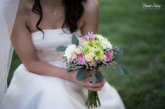 Novia romantica ,campestre,rosas,,verdes..