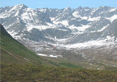 Hatcher Pass - detour 1 hour away from Anchorage. Beautiful views and lots of hiking.