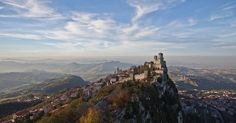 The Republic of San Marino,  Italy , is  Europe's  third-smallest state (after Vatican City and  Monaco ), yet has enough charm and natural beauty to attract over two million visitors each year. Perched 700 meters above sea level atop Mount Titano, the republic is a favorite day-trip destination ...