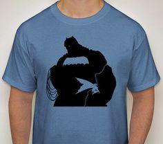 The Dark Knight Returns-Batman Silhouette T-Shirt by DJsDecals on Etsy