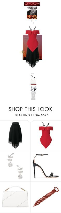 """Butterflies"" by j-mgreene ❤ liked on Polyvore featuring Dolce&Gabbana, Roland Mouret, Rina Limor, Gucci, Jason Wu, Valletta, Giorgio Armani, white, black and red"