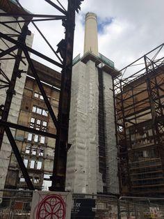 London Now, Battersea Power Station, Art Deco Stil, Old Buildings, Pink Floyd, Past, Inspirational, Landscape, Future