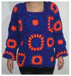 Chaleco hecho a Crochet