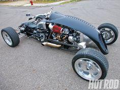 Brimstone Quadracycle - Wild Small-Block Chevy-Powered Quad Rod - Hot Rod Network