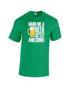 Beer original design heavy cotton t-shirt  by SparkleandComfort