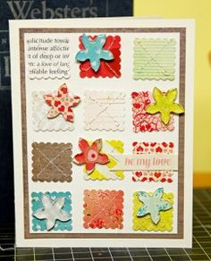 Card by @Mandy Koeppen made with the #epiphanycrafts Shape Studio Tool Flower. www.epiphanycrafts.com #cards