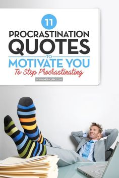Trying to break the habit of procrastination is so hard! It's much easier to do things that don't matter, at all. For example, it's much easier to watch every s Positive Quotes, Motivational Quotes, Inspirational Quotes, Happy Love, Are You Happy, Procrastination Quotes, Mentally Strong, How To Stop Procrastinating, Self Reminder