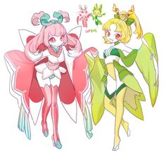 lurantis and leavanny