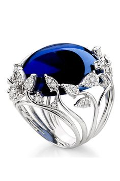 Rosamaria G Frangini | My DeepBlue Jewellery |Sapphire ring