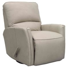 Barcalounger Cordoba Swivel Glider Recliner in Leather - 84555570081