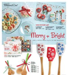 More great ideas to make your holiday celebrations Merry and Bright! http://www.pamperedchef.com/pws/pollysue