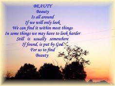 Beauty © Copyright Ethel GG Kent