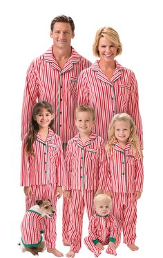 648f8508d2 Candy Cane Fleece Matching Family Pajamas