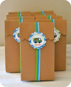 Scooby Doo Favour Bags - so doing this for D's birthday