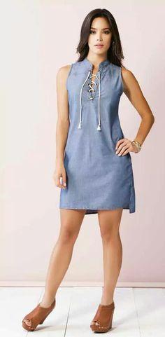 VC 154 Cute Dresses, Casual Dresses, Short Dresses, Casual Outfits, Fashion Dresses, Summer Dresses, Casual Looks, Casual Wear, Plus Size Fashion