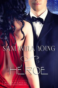P R O M E S A S D E A M O R: Reseña   Héroe, Samantha Young (FanArt realizado por FlordeCereza - Créditos de Promesas de Amor)