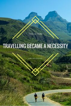 """This Is How Travelling Became A Necessity For Millennials - """"For the sake of my personal development, I decided to quit my job, pack my bags and buy a one way ticket to SE Asia."""" How many times did you hear this in the last few years? I bet, just like me, you've heard it so many times that it's now annoying..."""