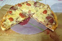 Retete Culinare - Pizza cu ce ai prin frigider