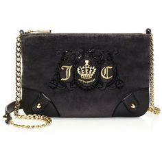 Jc Laurel Velour Flap Shoulder Bag 104