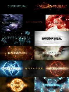 Supernatural - - SPN opening title is everything 🙌 🖤 - Supernatural Series, Supernatural Bloopers, Supernatural Pictures, Supernatural Fan Art, Supernatural Imagines, Supernatural Wallpaper, Winchester Supernatural, Supernatural Seasons, Sam Winchester