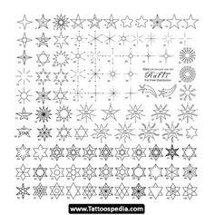 Star tattoo ideas nr 1 met lichtstreepjes?