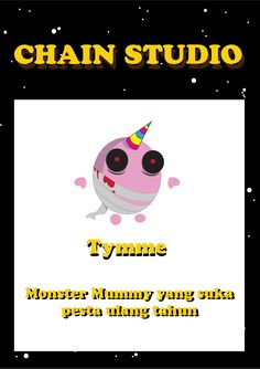Mummy Monster who loves birthday party