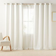 LC Lauren Conrad Antigua Room Darkening Lined Curtain, White - Washable - LOVE them! Blackout Curtains, Window Curtains, Small Apartment Interior, Have A Good Sleep, Farmhouse Curtains, Flat Shapes, Room Darkening, Lc Lauren Conrad, Decor Interior Design