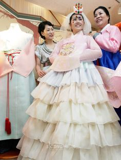 Hanbok fusion...fused with what?
