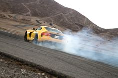 2013 SRT Viper GTS Burnout Test: Each rear tire is 900 dollars. That's 900 dollars American.